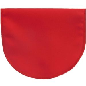 cleavage cover red polyester no lace
