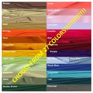 """Choose from 27 Colors"""" Panel"""