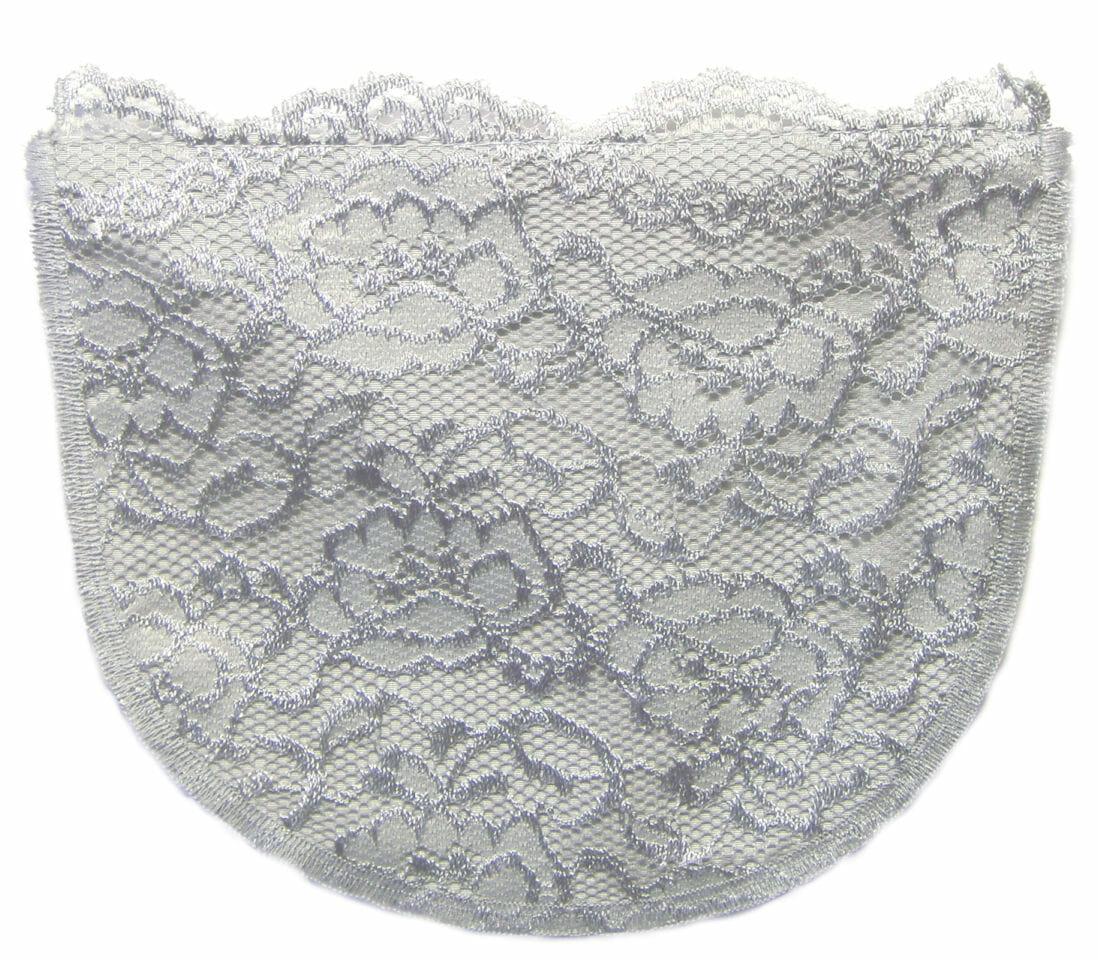 Grey Lace Modesty Panel