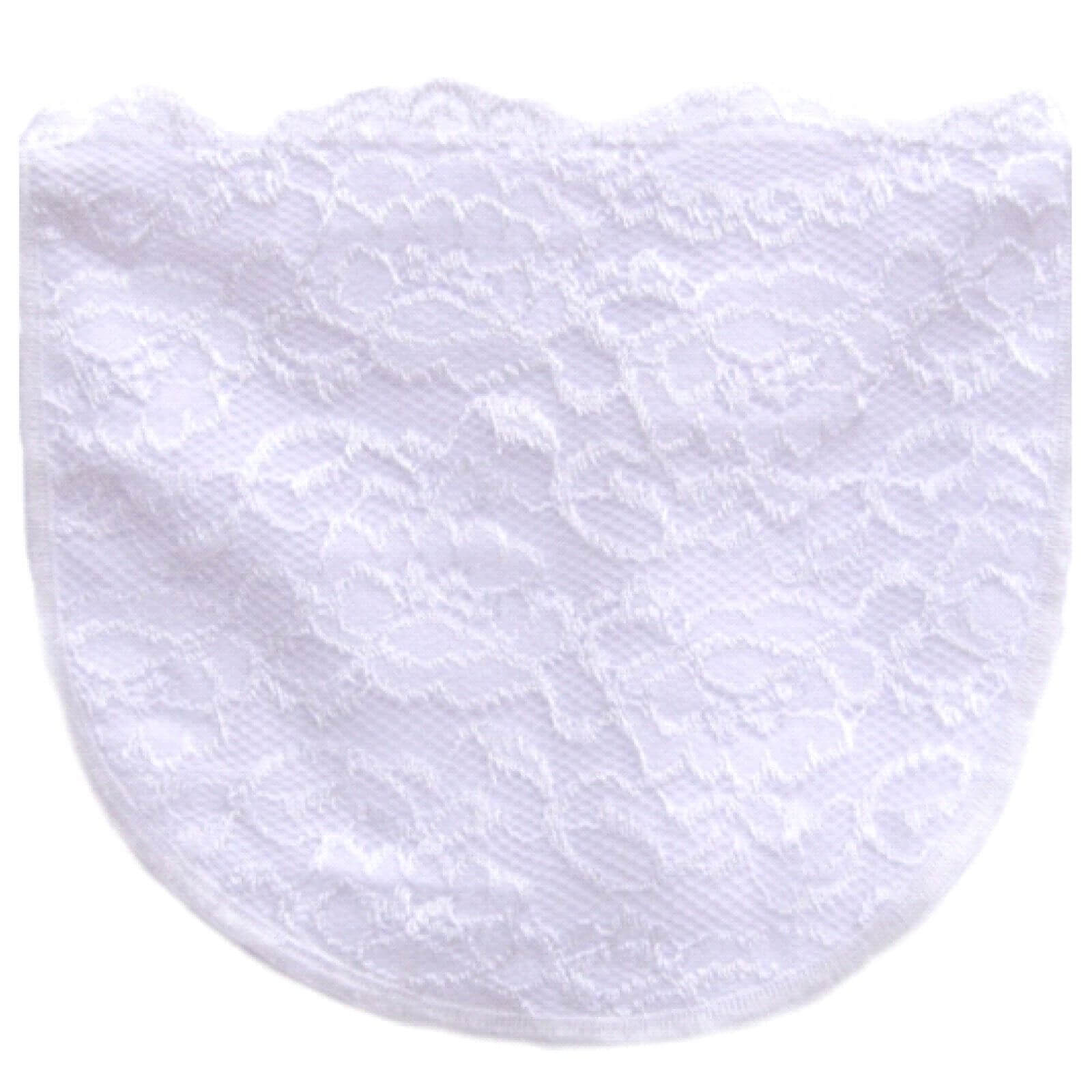 White Full Lace Modesty Panel